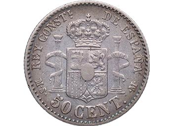 1881 *81. Alfonso XII (1886-1931). ...