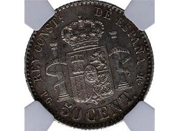 1892*92. Alfonso XIII (1886-1931). ...