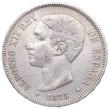 1875*75. Alfonso XII (1874-1885). ...